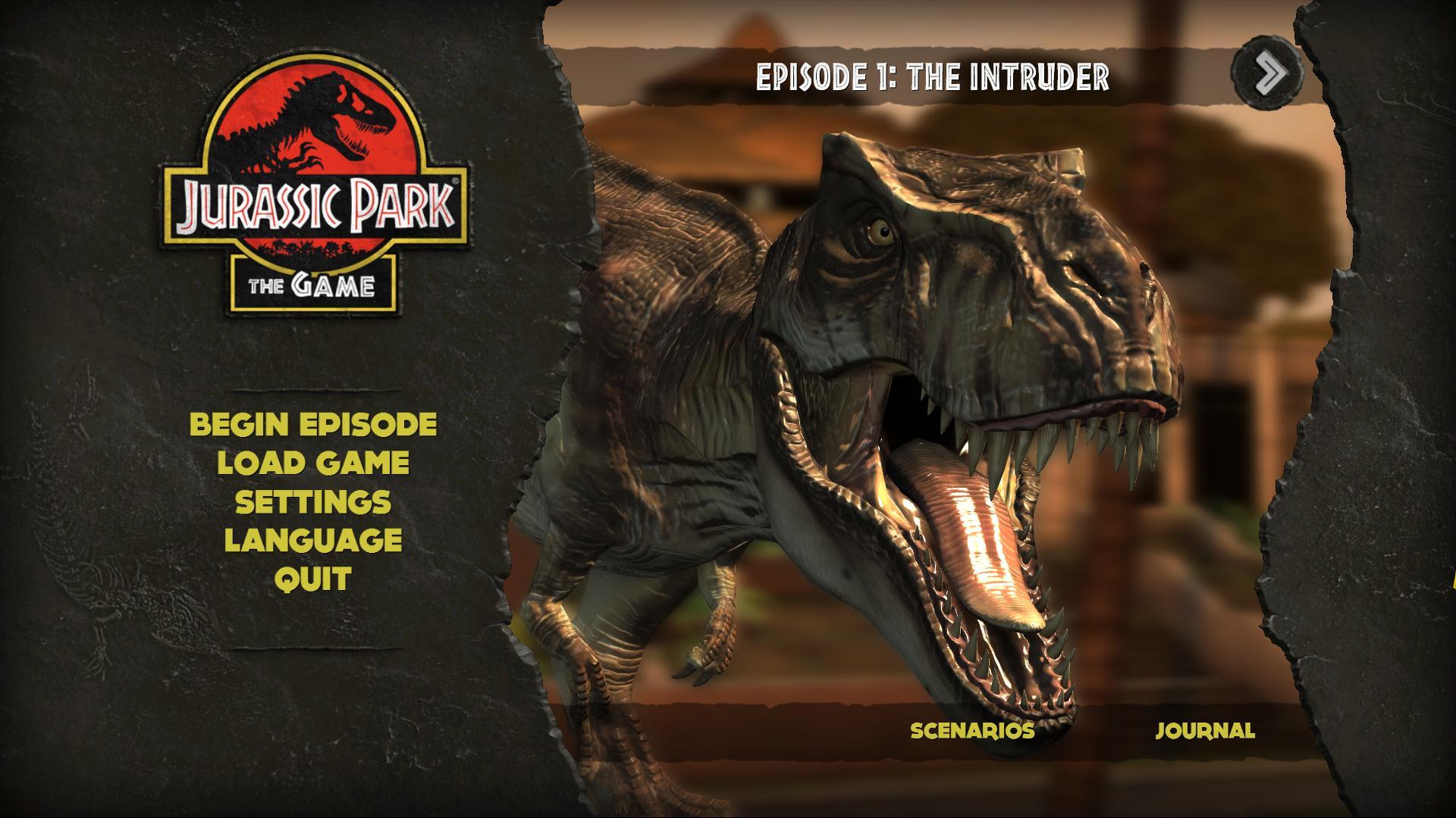 Jurassic Park: The Game (PC, Mac, iOS, PSN, XBox 360)